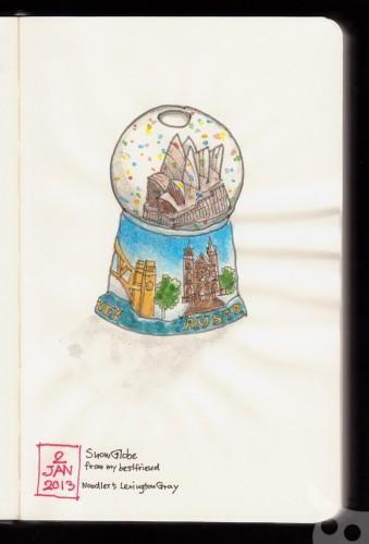 Snow Globe จิ๋วของฝากจากเพื่อนซี้ครับ