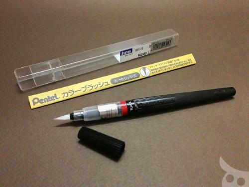 Pentel Color Brush-04