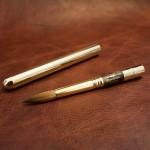 รีวิวพู่กันเทพ! Escoda Reserva Kolinsky-Tajmyr Sable Series 1214 Retractable Travel Brush