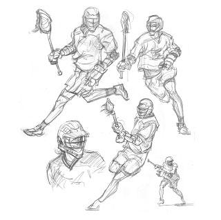 ภาพจาก :http://cuylersmithart.blogspot.com/2007/11/sport-sketches.html