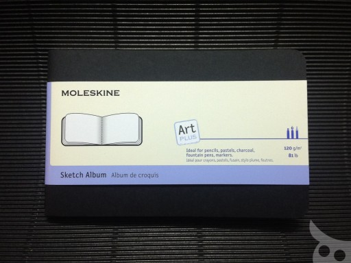 Moleskine Sketch Album-02