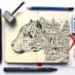 Doodle art ศิลปะของคนมีจินตนการ วาดยังไงก็ไม่ไร้สาระ
