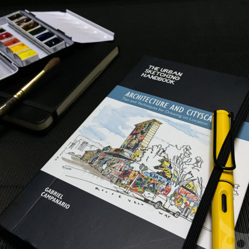 The Urban Sketching Handbook - Architecture and Cityscapes-15