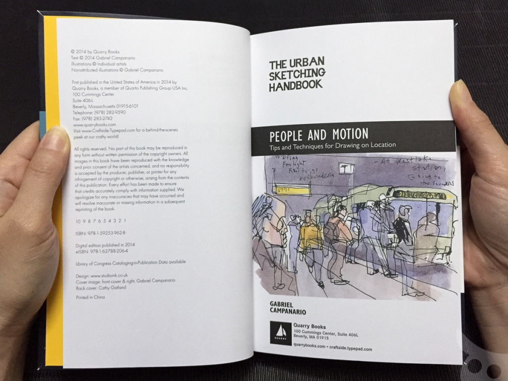The Urban Sketching - People-03
