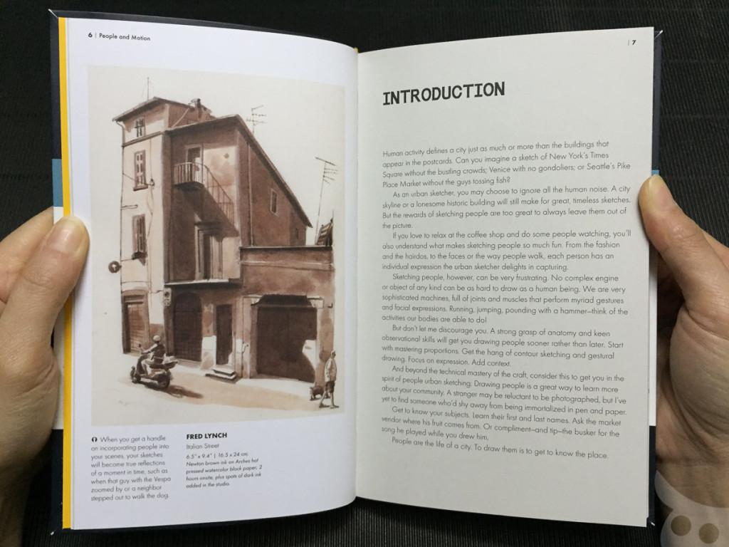 The Urban Sketching - People-05