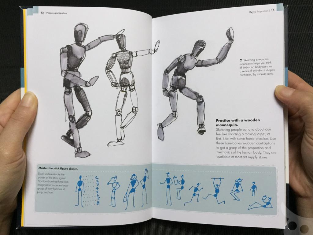 The Urban Sketching - People-07