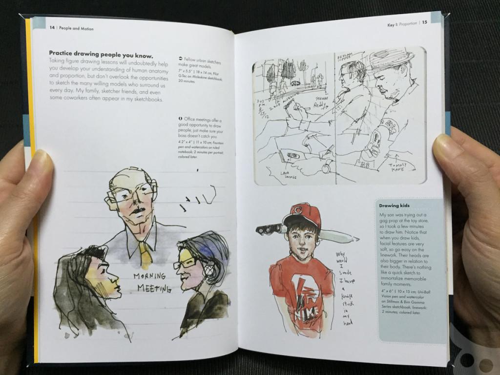 The Urban Sketching - People-08