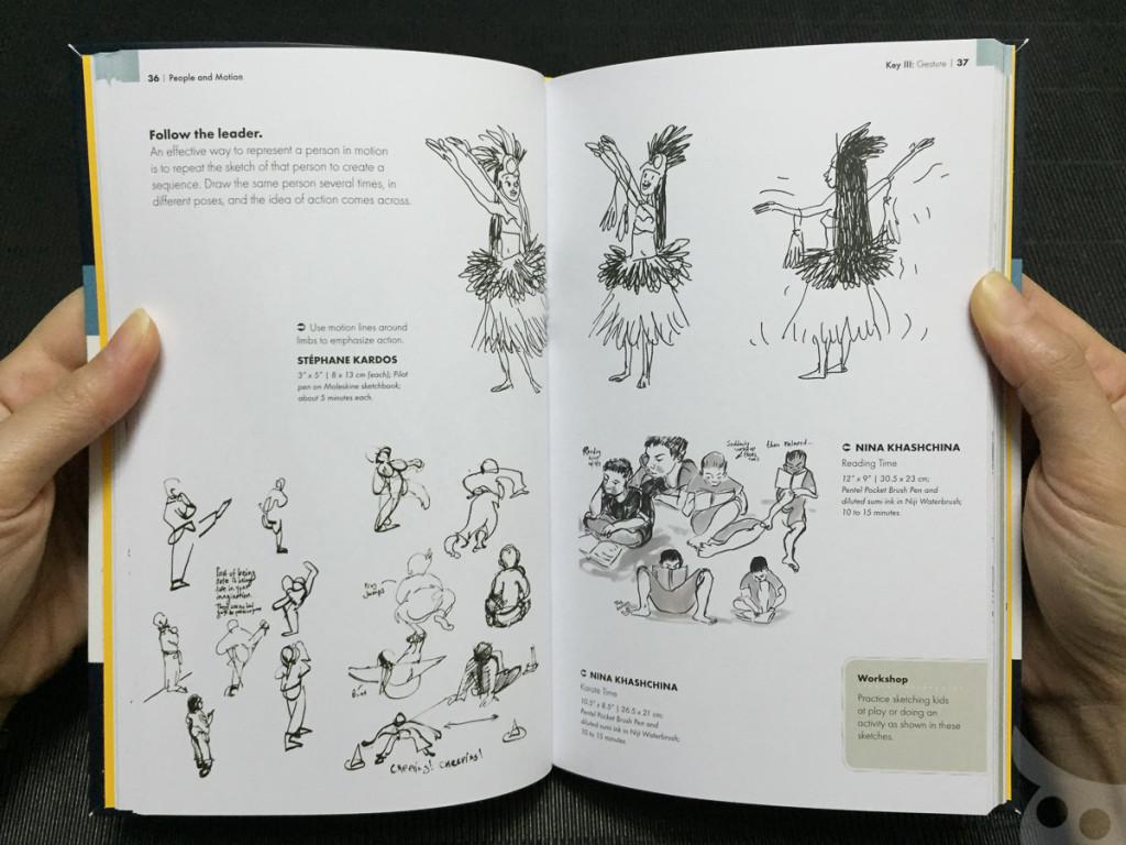 The Urban Sketching - People-12