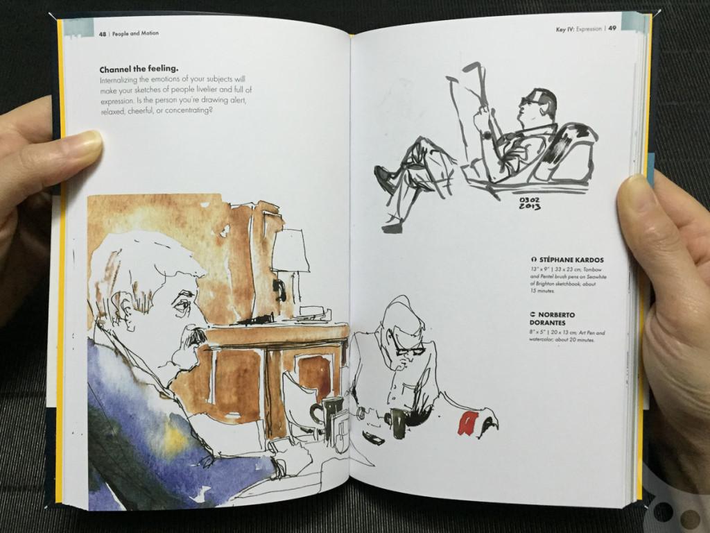 The Urban Sketching - People-13