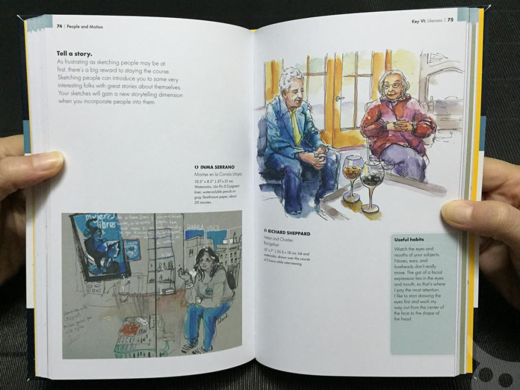 The Urban Sketching - People-16