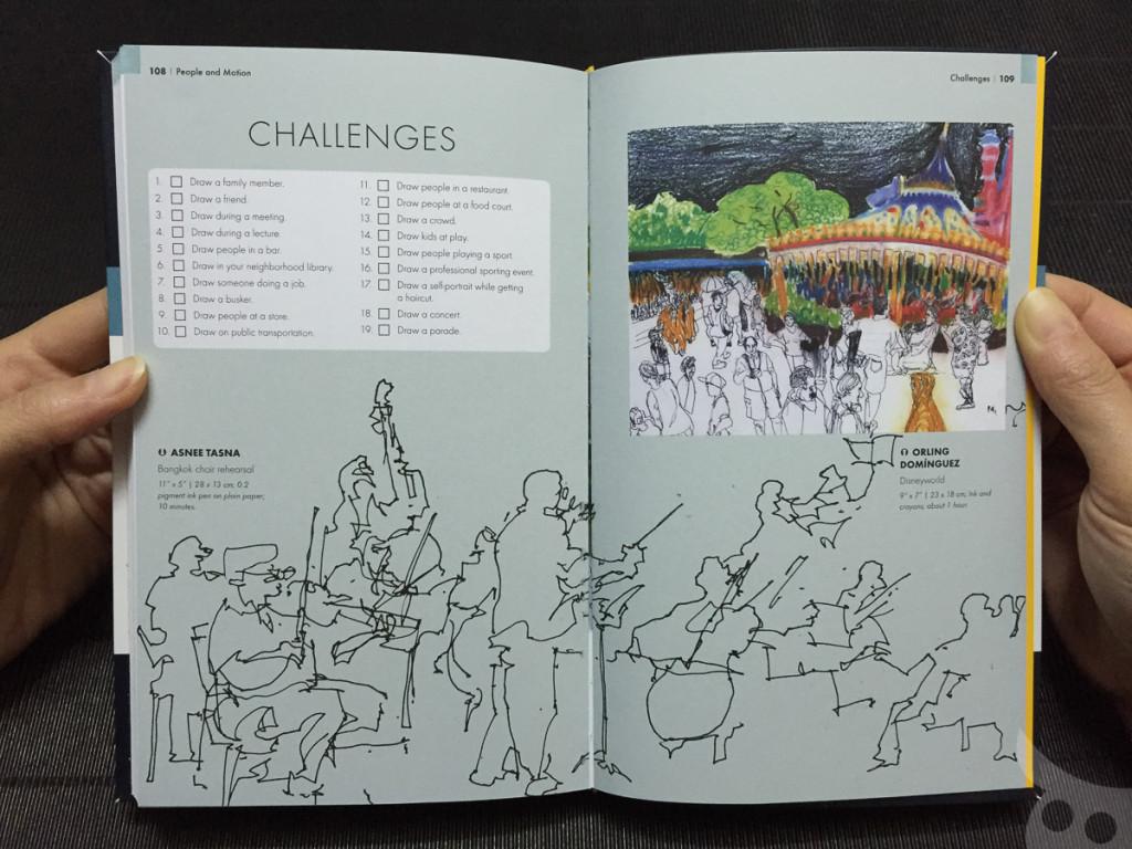 กรี๊ดดดด!! เล่มนี้มีสเก็ตช์ลายเส้นของสเก็ตช์เชอร์ชาวไทยที่ผมชื่นชอบมากที่สุด คุณอัสนี ทัศนาด้วย! ผมนี่ก้มลงกราบหนังสือเลย!