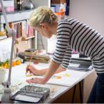 เปิดสตูดิโอ Lucile's Kitchen พื้นที่สร้างสรรค์งานภาพประกอบของมืออาชีพ