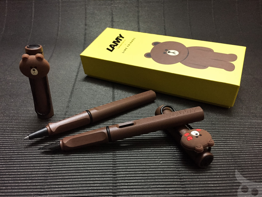 Lamy x Line Friends Brown Limited Edition 2015