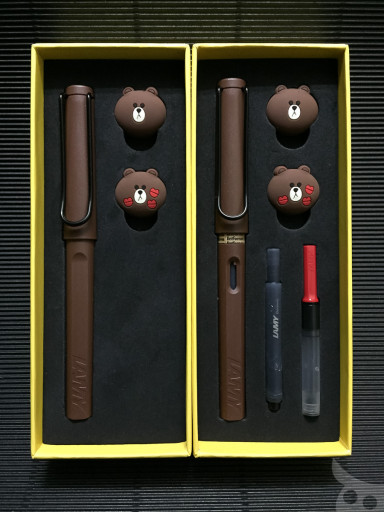 Lamy Line Brown-11