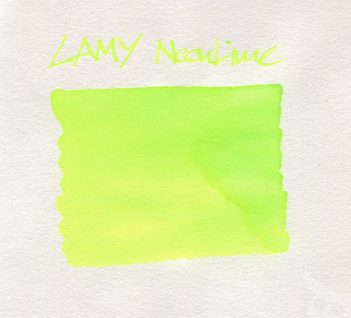 Lamy NeonLime 2015-13