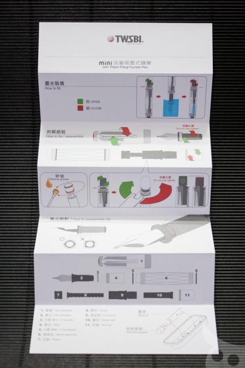 TWSBI Diamon mini Clear-05