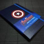 สมุดในตำนานแห่งอเวนเจอร์ส!! Moleskine The Avengers Age of Ultron Special Edition : Captain America