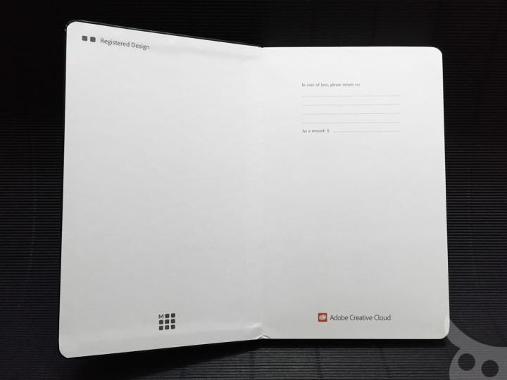 Moleskine Adobe CC-11