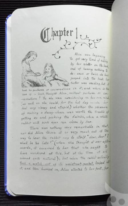 Moleskine Alice-12