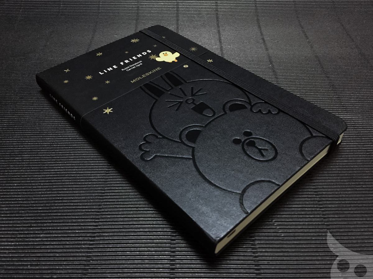 Moleskine Line Brown Cony-01