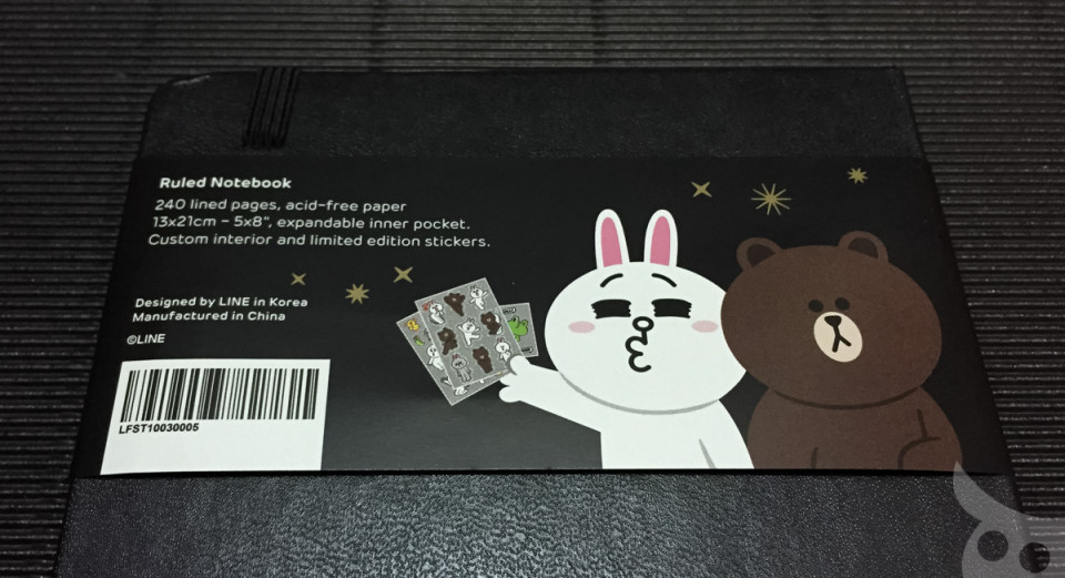 Moleskine Line Brown Cony-04