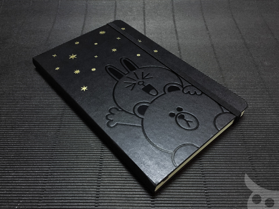 Moleskine Line Brown Cony-08