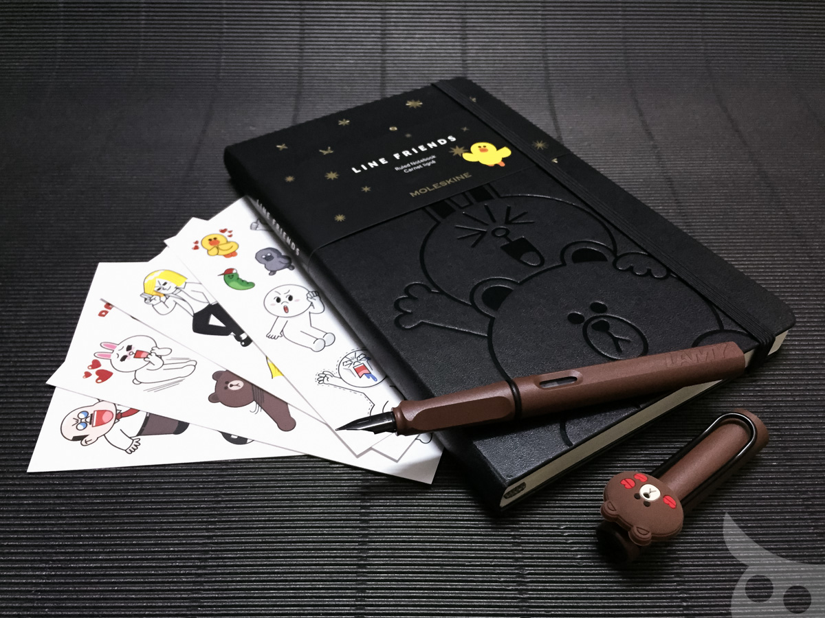Moleskine Line Brown Cony-18
