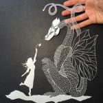 ภาพแกะสลักจากกระดาษ งานศิลปะจากใบมีดกับ Paper Carving ยิ่งตัดก็ยิ่งสวย!