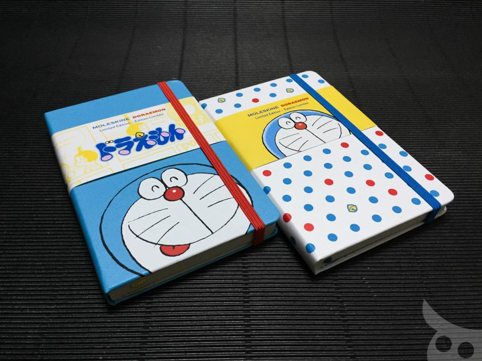 Moleskine X Doraemon-01