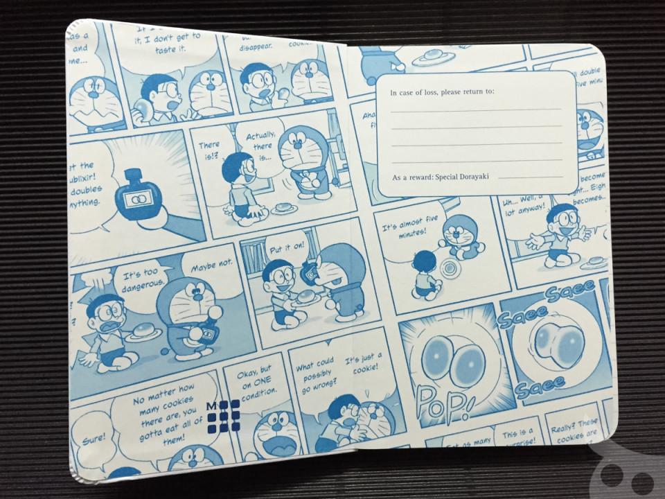 Moleskine X Doraemon-26