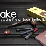 ระวังหมีปลอม! วิธีดูลามี่ไลน์หมีบราวน์ปลอม! Fake Lamy x Line Brown Limited Edition