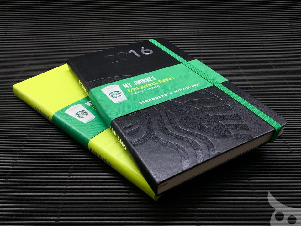 Moleskine Starbucks Thailand Monthly Planner 2016