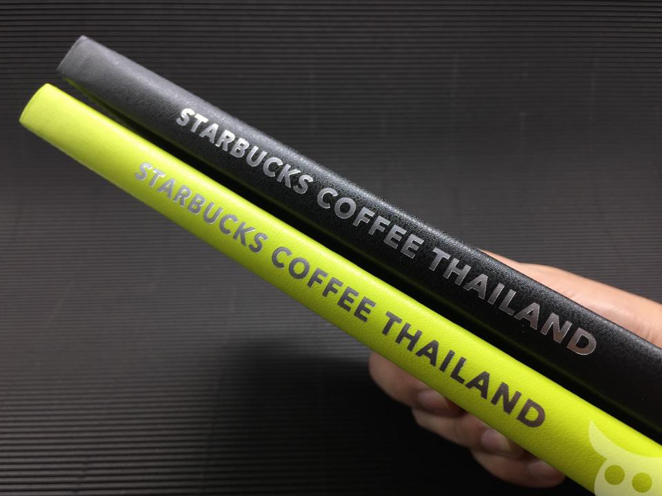 Moleskine Starbucks Thailand 2016-10