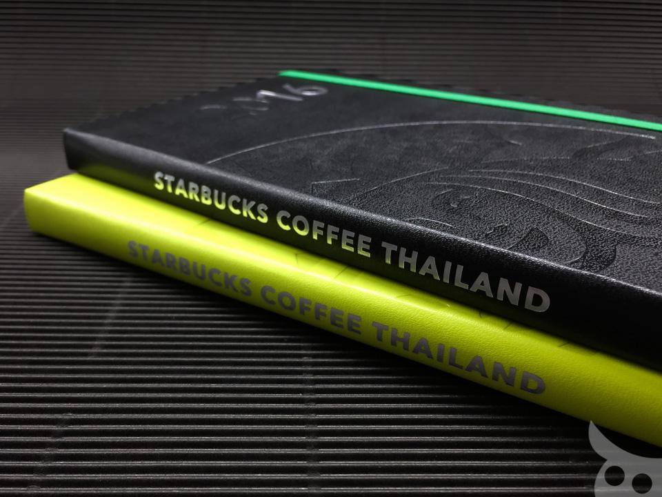 Moleskine Starbucks Thailand 2016-11
