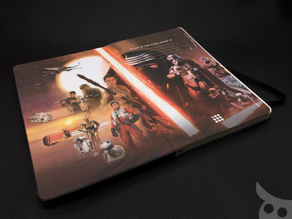 Moleskine Star Wars VII-19