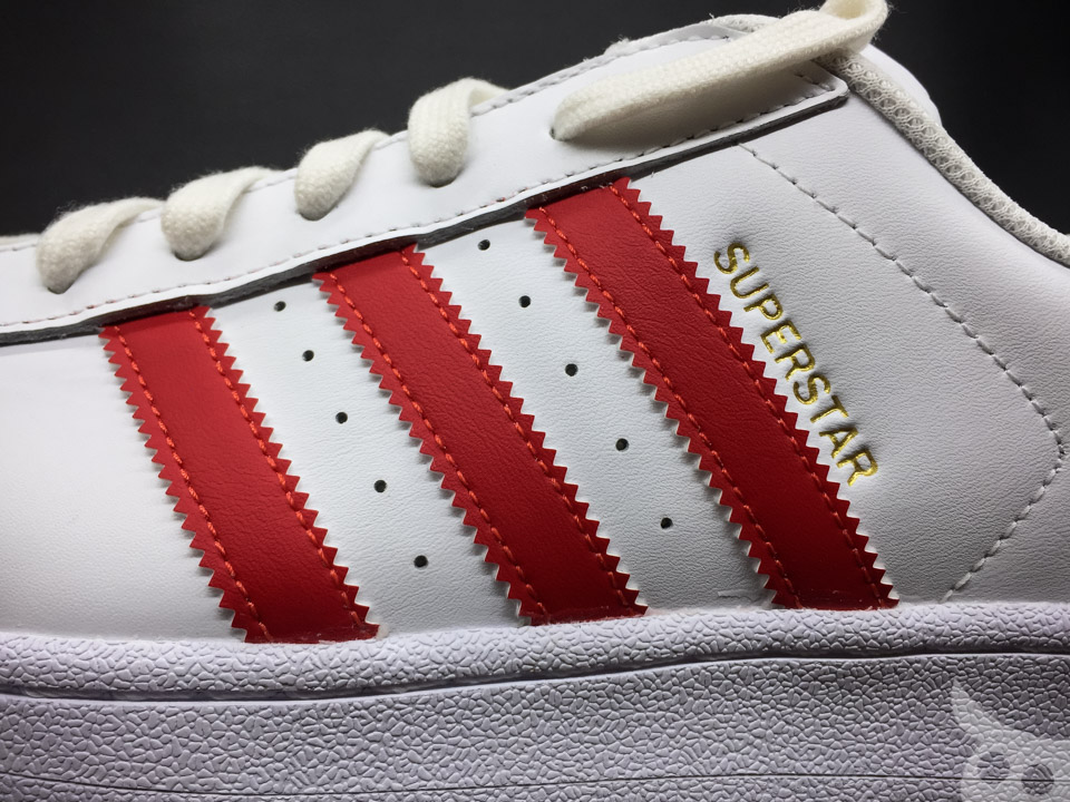 Adidas Superstar Foundation Scarlet-07