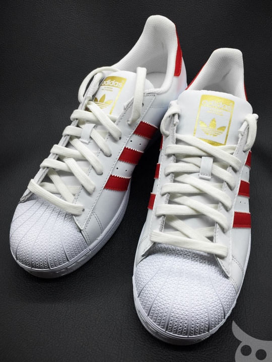 Adidas Superstar Foundation Scarlet-13