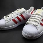 หลีกหนีความจำเจ! รองเท้าอาดิดาสซุปเปอร์สตาร์ ฟาวเดชั่น Adidas Superstar Foundation : Scarlet