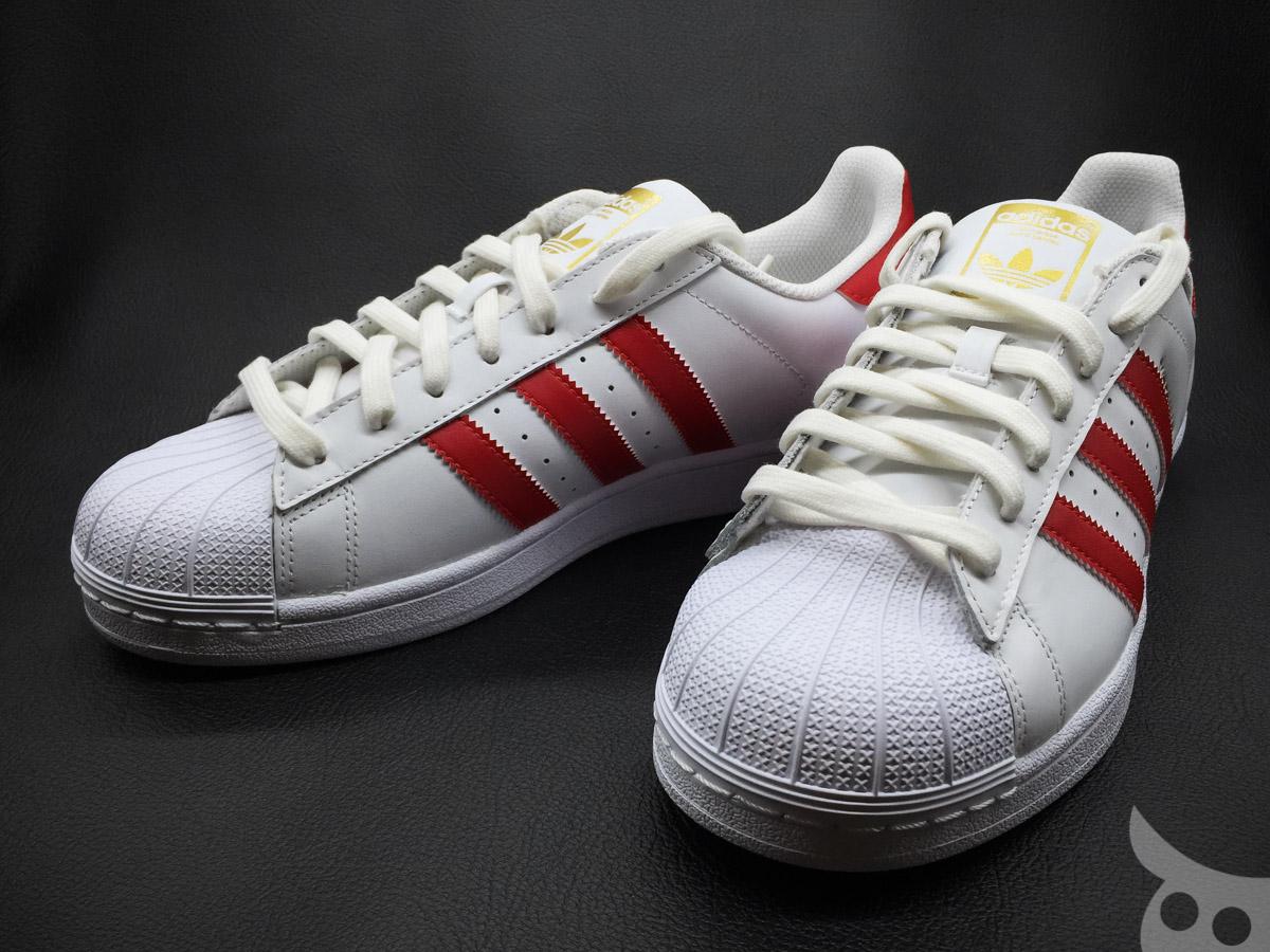 Adidas Superstar Foundation Scarlet