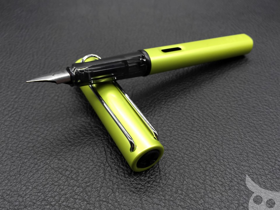 Lamy AL-Star Charged Green 2016-02