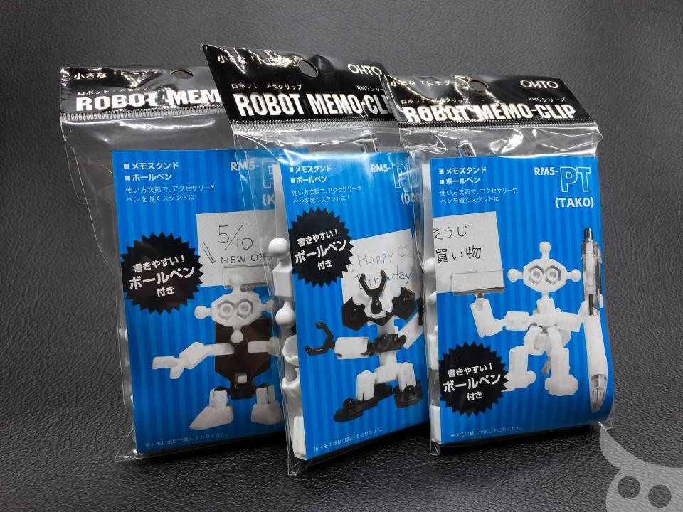 OHTO Pen Robot Memo-01