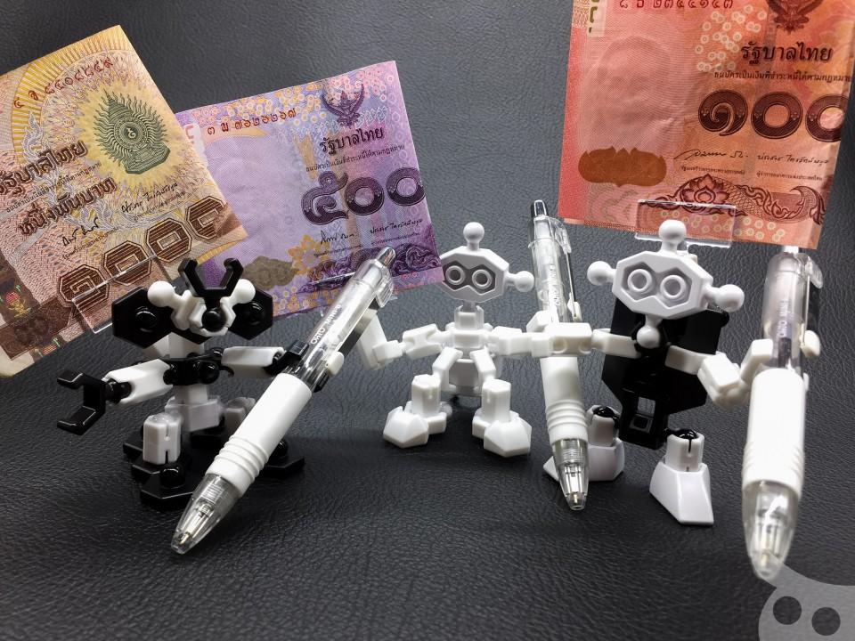 OHTO Pen Robot Memo-11