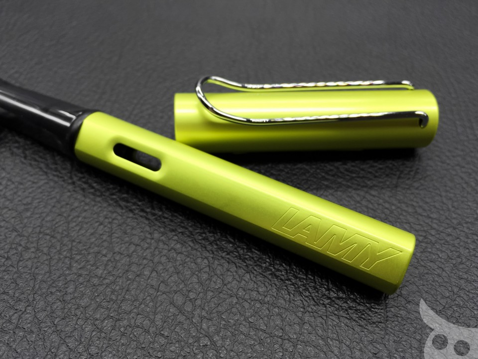 Lamy AL-Star Charged Green 2016-04