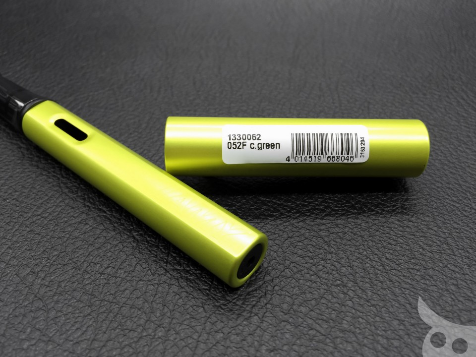Lamy AL-Star Charged Green 2016-06