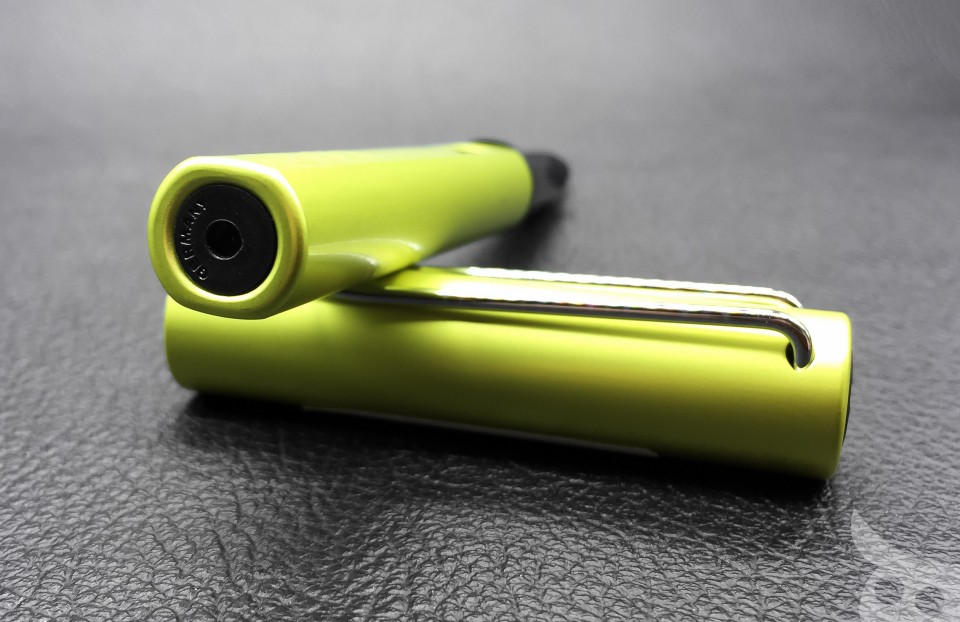Lamy AL-Star Charged Green 2016-08