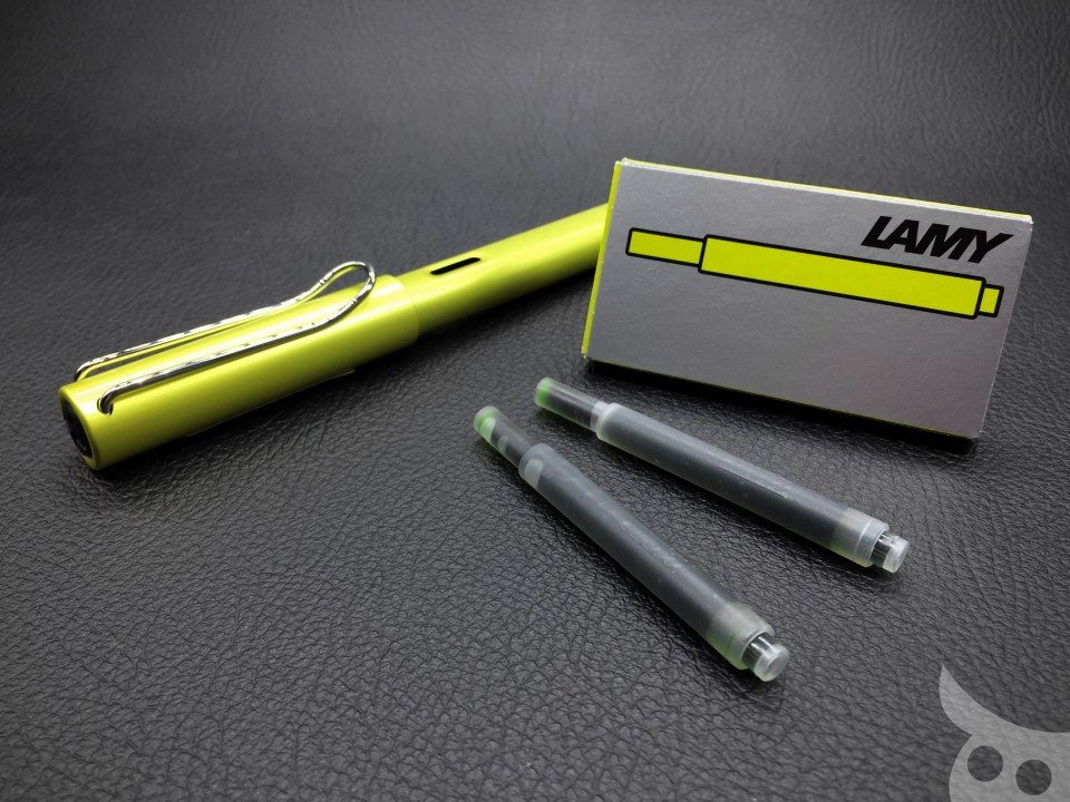 Lamy AL-Star Charged Green 2016-12