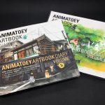 ตกหลุมรักอีกครั้งกับอาร์ตบุ๊กแสนสดใส AnimaToey Artbook Diary Volume 2