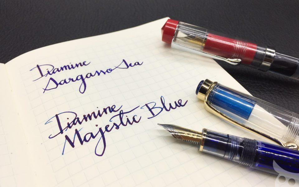 แนะนำตัว Majestic Blue นะ มันออก sheen ชมพูส๊วยสวย