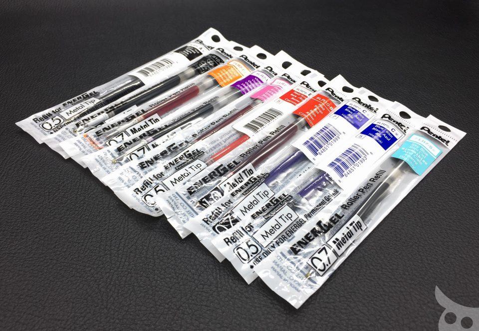 Pentel EnerGel Roller Pen Refill