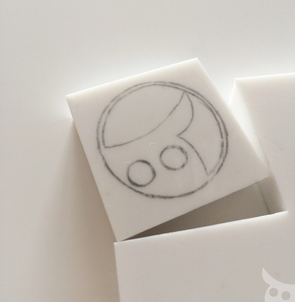 Rubber Stamp-Step 3a